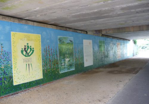 Toddler's Cove Underpass post project