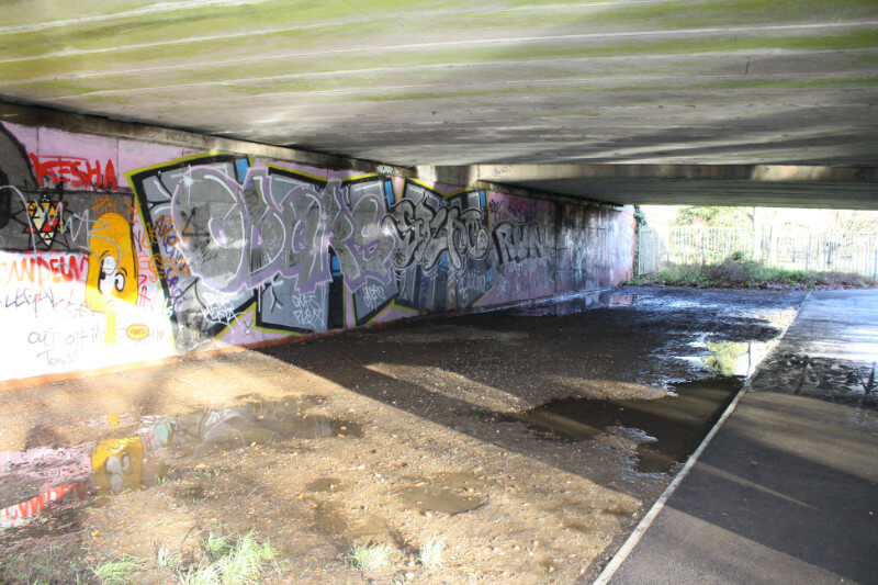 Toddler's Cove Underpass pre project