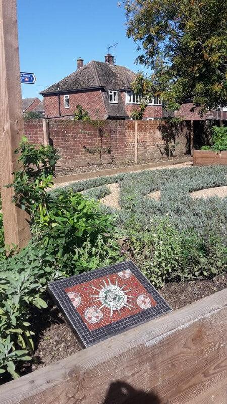 Physic garden mosaics